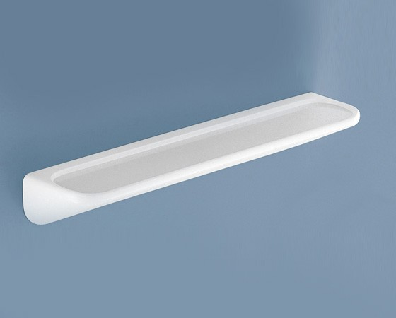 ESTANTE PARED PLASTICO BLANCO MOD. 2600 60CMS