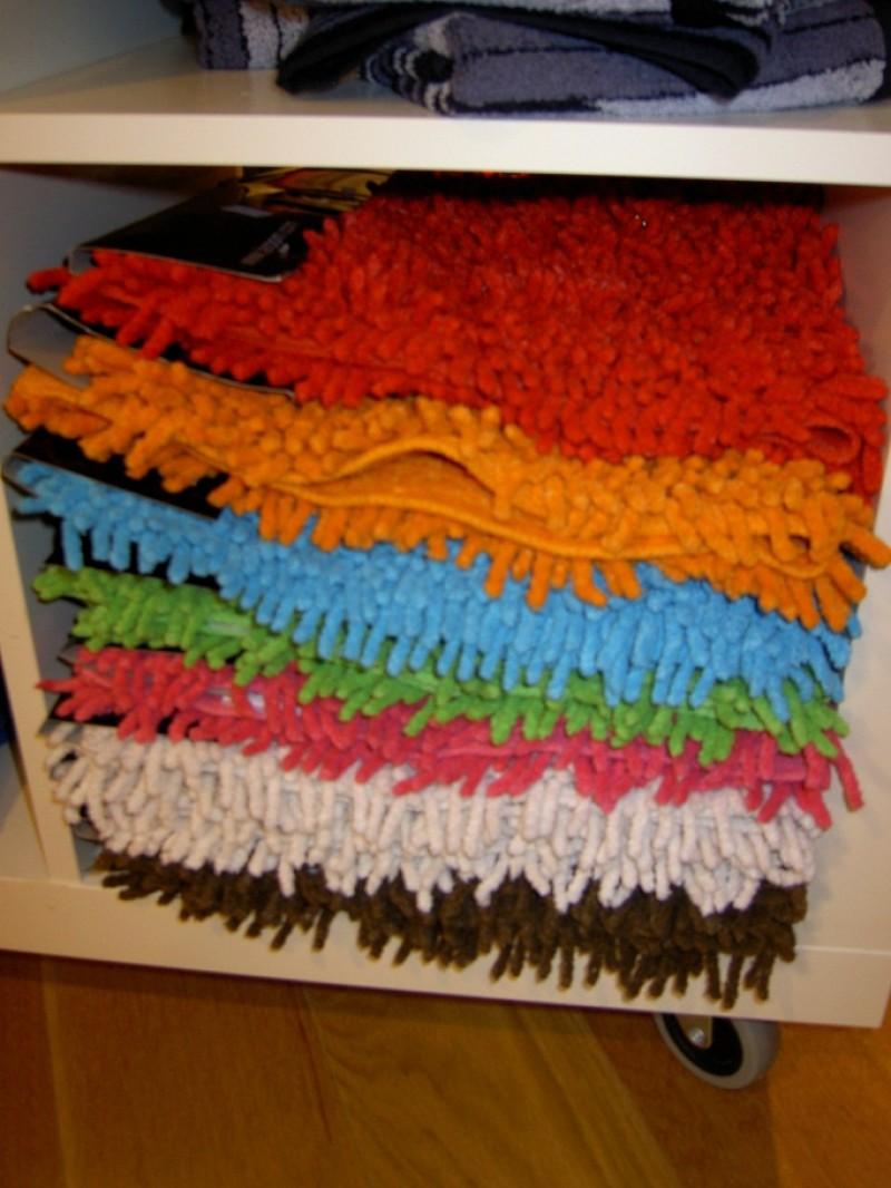 Alfombra ba o pelo lisa naranja 40x60 Alfombras lisas