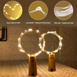 TAPON CON CABLE LUCES LED PARA BOTELLAS
