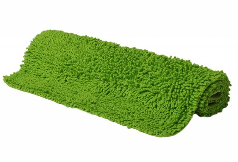Accesorios Baño Verde Pistacho:ALFOMBRA BAÑO RIZOS PISTACHO 50X80