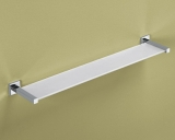 ESTANTE PARED CRISTAL/CROMO MOD. COLORADO 60CMS