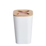 VASO PVC BAMBU 11.7X7.3 BLANCO