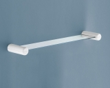 ESTANTE PARED PLASTICO-CRISTAL BLANCO MOD. 2900 60CMS