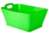 RECIPIENTE BASKET ABS VERDE 11L