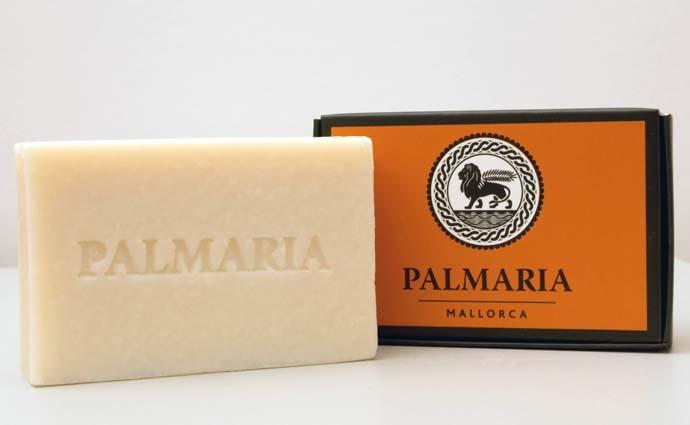 JABON PASTILLA FLOR DE NARANJO, PALMARIA MALLORCA 150GR