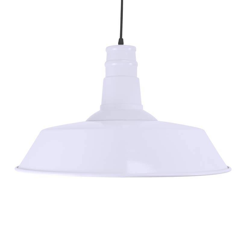 LAMPARA TECHO NORDICA ELSKER 46X30 METALICA E27 BLANCA