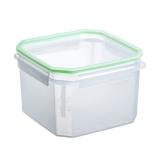 TUPPER ALIMENTOS CLIP SAFE BPA FREE CUADRADO 2.9L TRANSP-VERDE